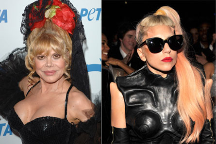 COMMENT OF THE DAY: Charo, on Lady Gaga