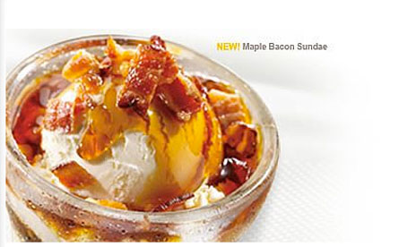 WEIRD BUT TRUE: Bacon Sundaes?!