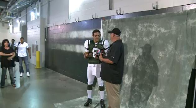 VIDEO: Behind the Scenes with Mark Sanchez!