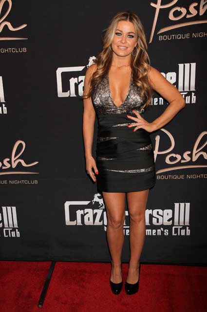 Meanwhile, Carmen Electra's Not-So-Magnificent Dress…