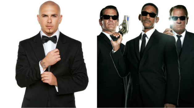 pitbull goes �back in time� with theme song to �men in