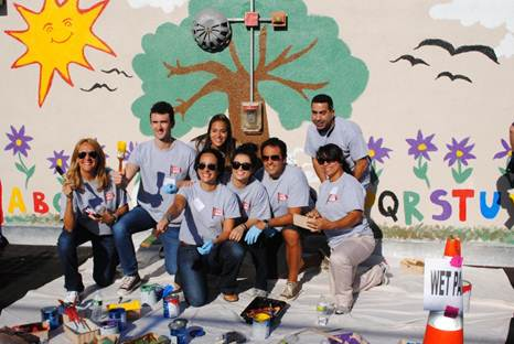 ESPN and Time Warner Cable Celebrate Hispanic Heritage Month by Helping the Local Community in NY