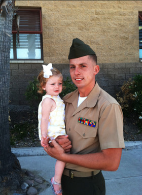 Reuniting 300 Military Families for Father's Day