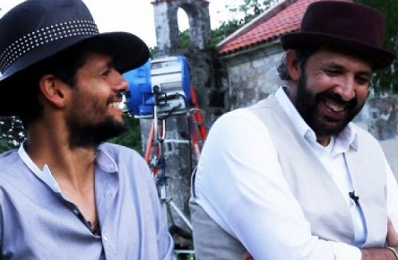 "Draco Rosa y Juan Luis Guerra Film Video ""Esto Es Vida"" in DR"