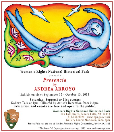 """Andrea Arroyo Exhibits """"Presencia"""" A Series of Works That Celebrate Women's Courage"""