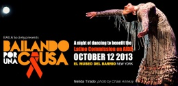 """""""Bailando Por Una Causa""""(Dancing for a Cause): A Night of Dancing to support the Latino Commission on AIDS Organization"""