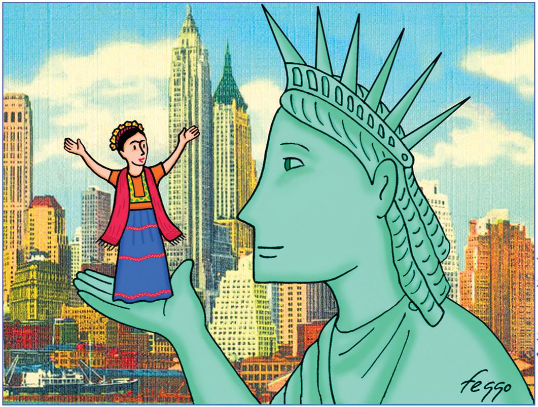 Exhibition: 'Frida's New York' by Felipe Galindo