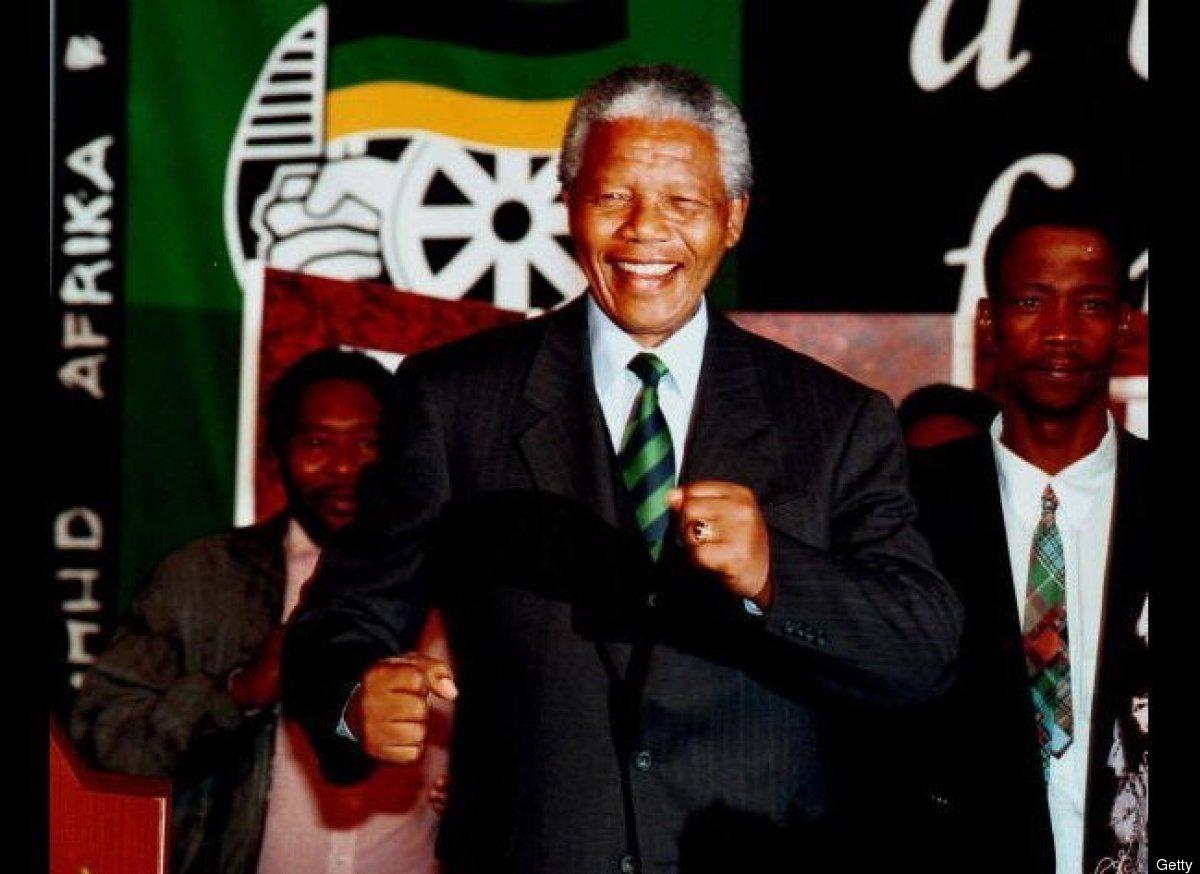 Former South African President Nelson Mandela Dies At 95