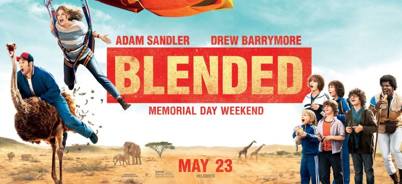BLENDED Starring Adam Sandler and Drew Barrymore In Theaters May 23
