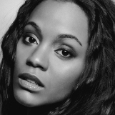 11 Jun 2002 --- Actress Zoe Saldana --- Image by © Jack Chuck/CORBIS OUTLINE