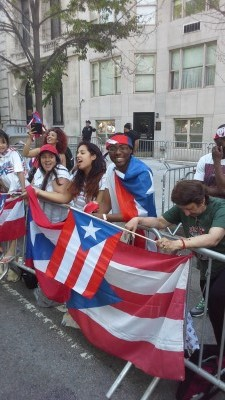 2014 PUERTO RICAN PARADE: A SPECTATOR'S POINT OF VIEW