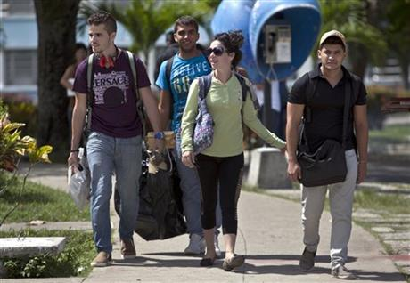 U.S. sent Latino Youth Travelers to Cuba in order to start Rebellion