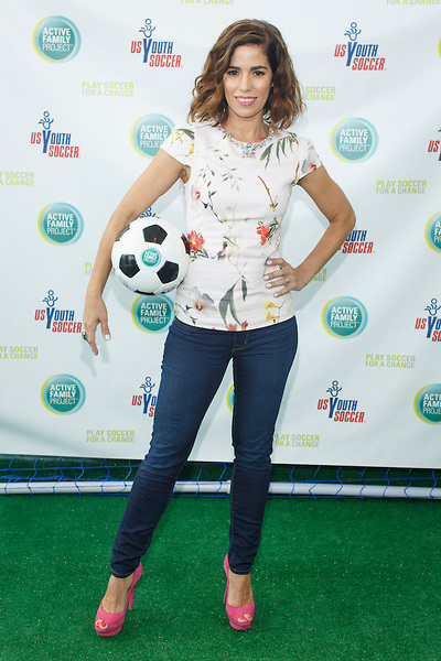Actress Ana Ortiz Is The Spokesperson For Merck Consumer Care's Active Family Project