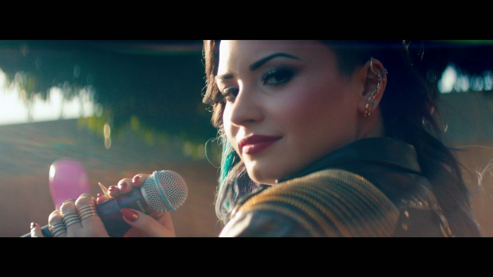 "Demi Takes A Stand ""Really Don't Care"""