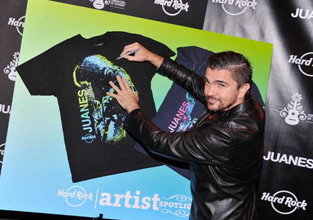 JUANES AND HARD ROCK JOIN FORCES FOR