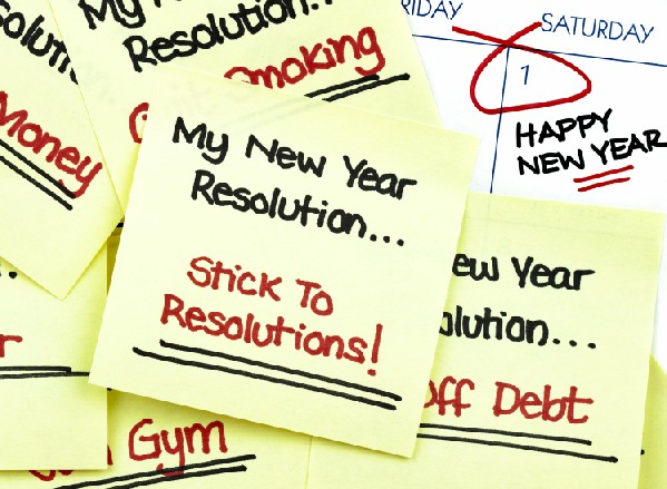 5 Healthy New Year's Resolution