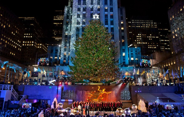 Christmas in Rockefeller Center Tree Lighting Ceremony Featuring Mariah Carey, Prince Royce, Lady Gaga and Many More!