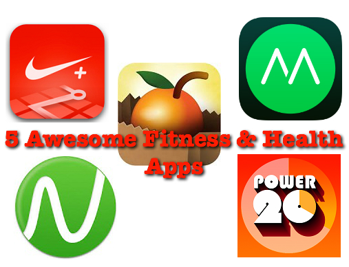 5 Awesome Fitness and Health Apps for 2015