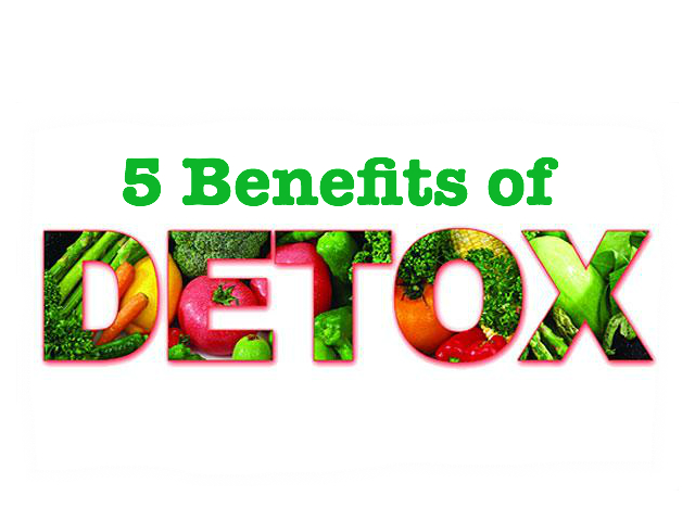 5 Health Benefits of Detox