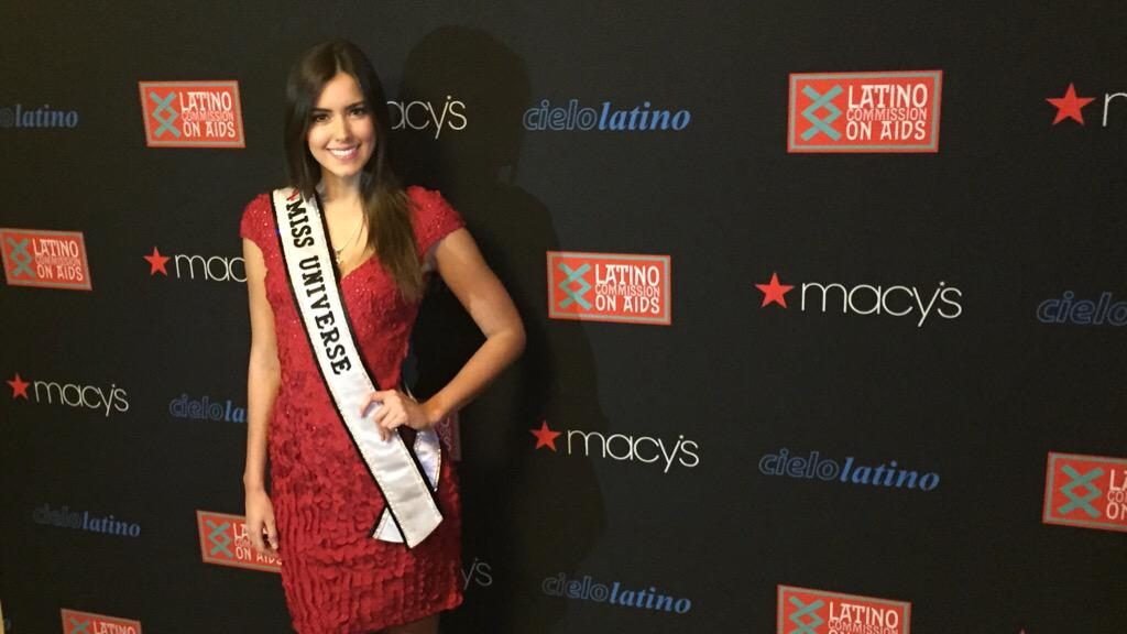 LATINO COMMISSION ON AIDS LAUNCHES 25TH ANNIVERSARY CELEBRATION WITH MISS UNIVERSE, PAULINA VEGA AS THE NEWEST MADRINA