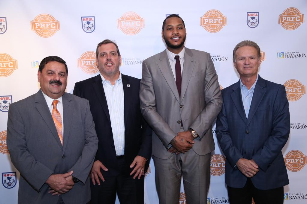 Carmelo Anthony is owner of a soccer team