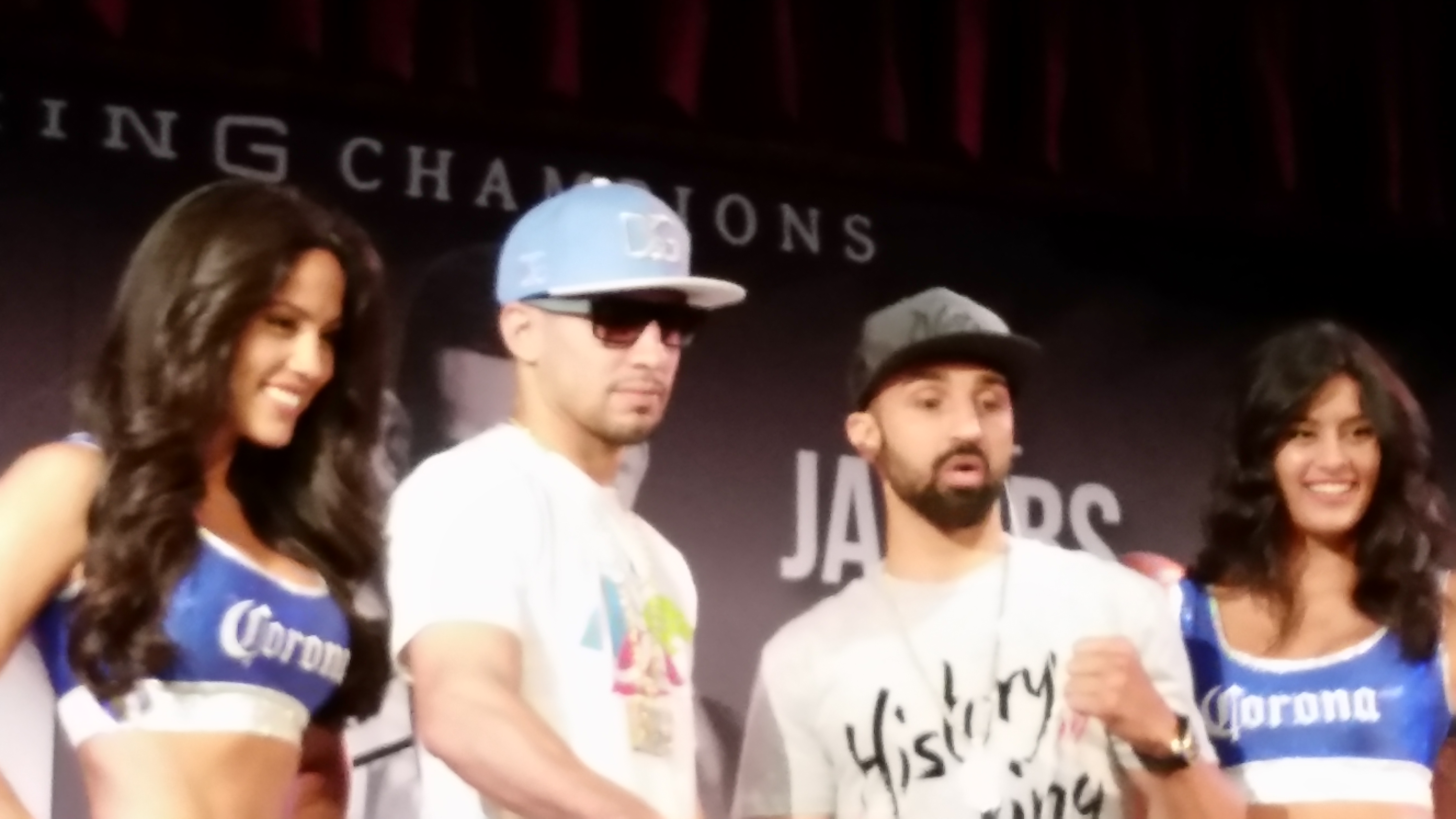 DANNY GARCIA FIGHTS A MAGIC MAN AT WELTERWEIGHT