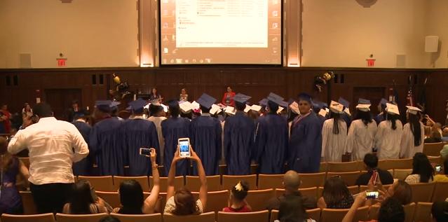 LatinTRENDS Founder Gives Inspiring Speech to a Bronx High School Graduating Class