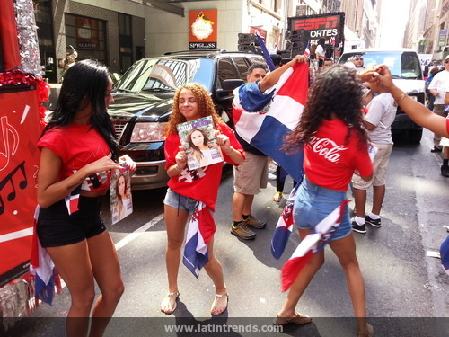 Video of LatinTRENDS at the 2015 Dominican Day Parade