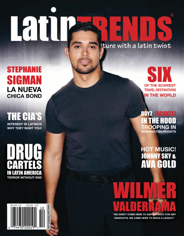 Wilmer Valderrama on the October Cover of LatinTRENDS Magazine