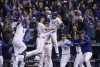 ROYALS TAKE FIVE HOURS TO BEAT METS IN WORLD SERIES OPENER