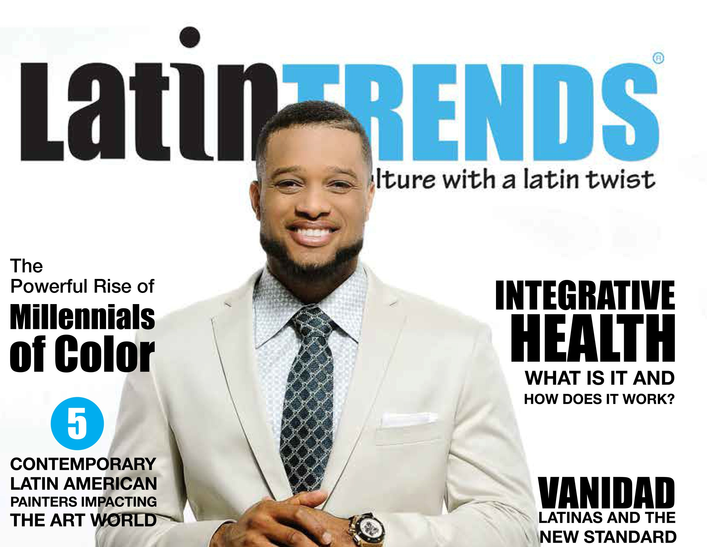 Robinson Cano Graces the November Cover of LatinTRENDS Magazine