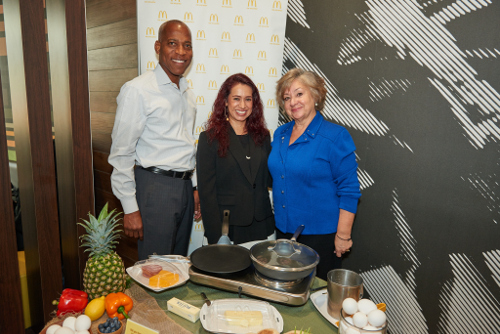 McDonald's® Opened Doors to Showcase Fresh Ingredients and Balanced Meal Options in All Day Breakfast® Menu
