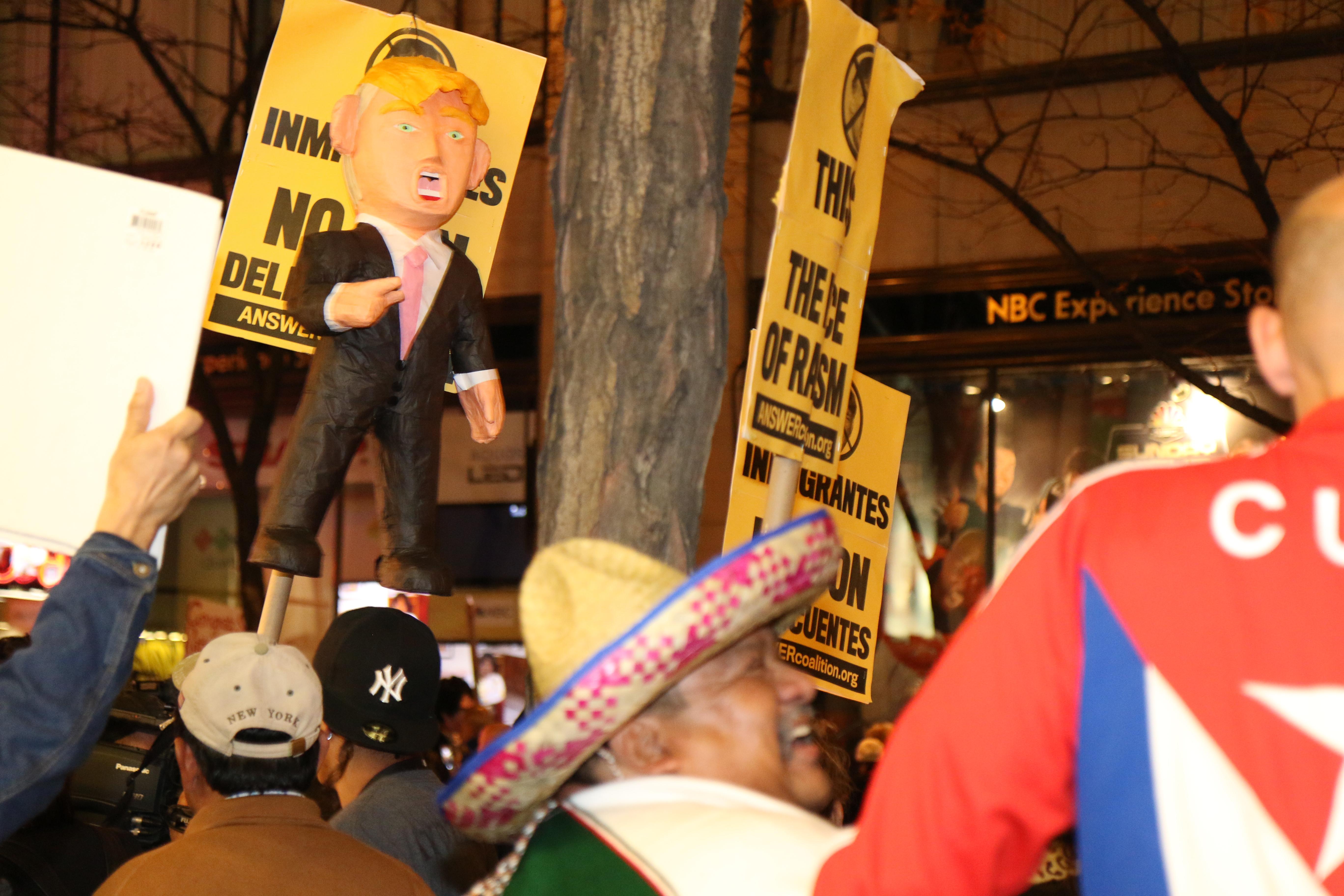 Dump Trump Rally in NYC