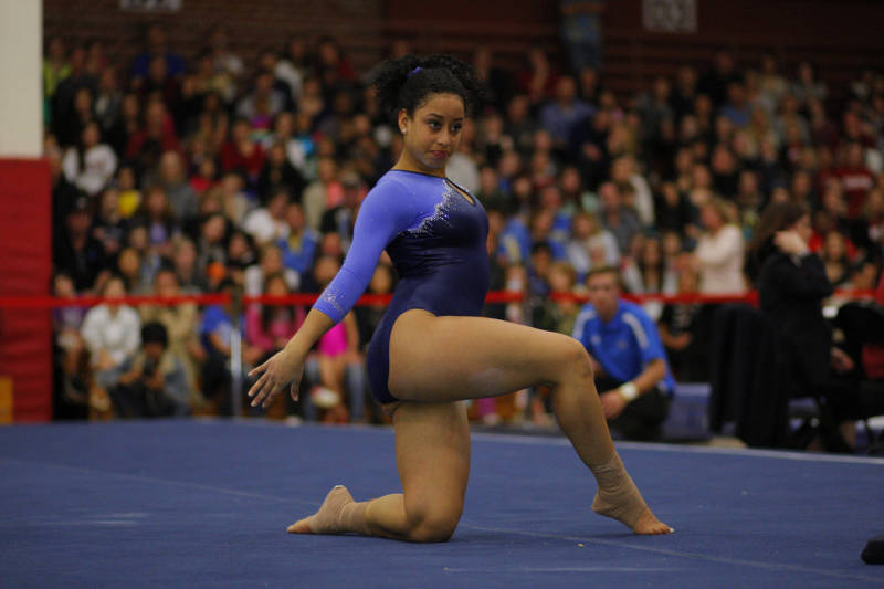 GYMNAST SOPHINA DEJESUS MAY HAVE JUST REINVENTED THE SPORT