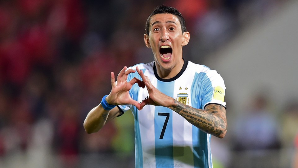 DIMARIA DELIVERS ARGENTINA TO QUALIFIER WIN OVER CHILE