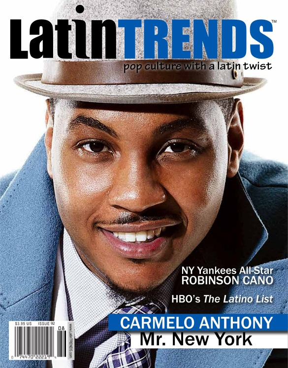 Carmelo Anthony speaks about his Puerto Rican roots