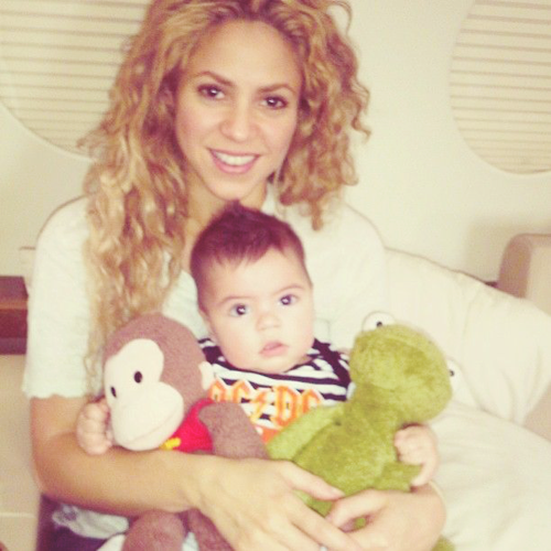 """Shakira launches """"The Grow"""" parenting app!"""