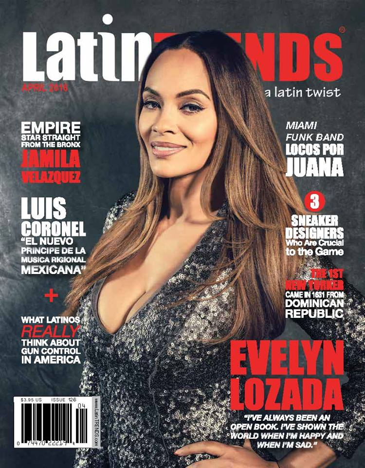 Evelyn Lozada Graces April cover of LatinTRENDS