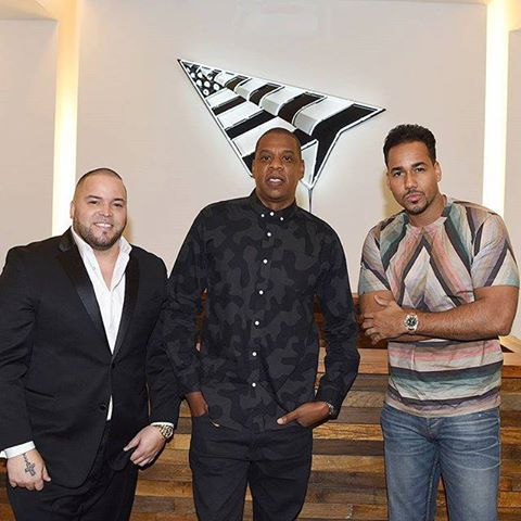 Romeo & his Manager Johnny Marines partner with JAY-Z in Roc Nation Latino