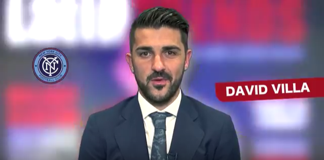 Cover shoot behind the Scene Video with Soccer Legend David Villa