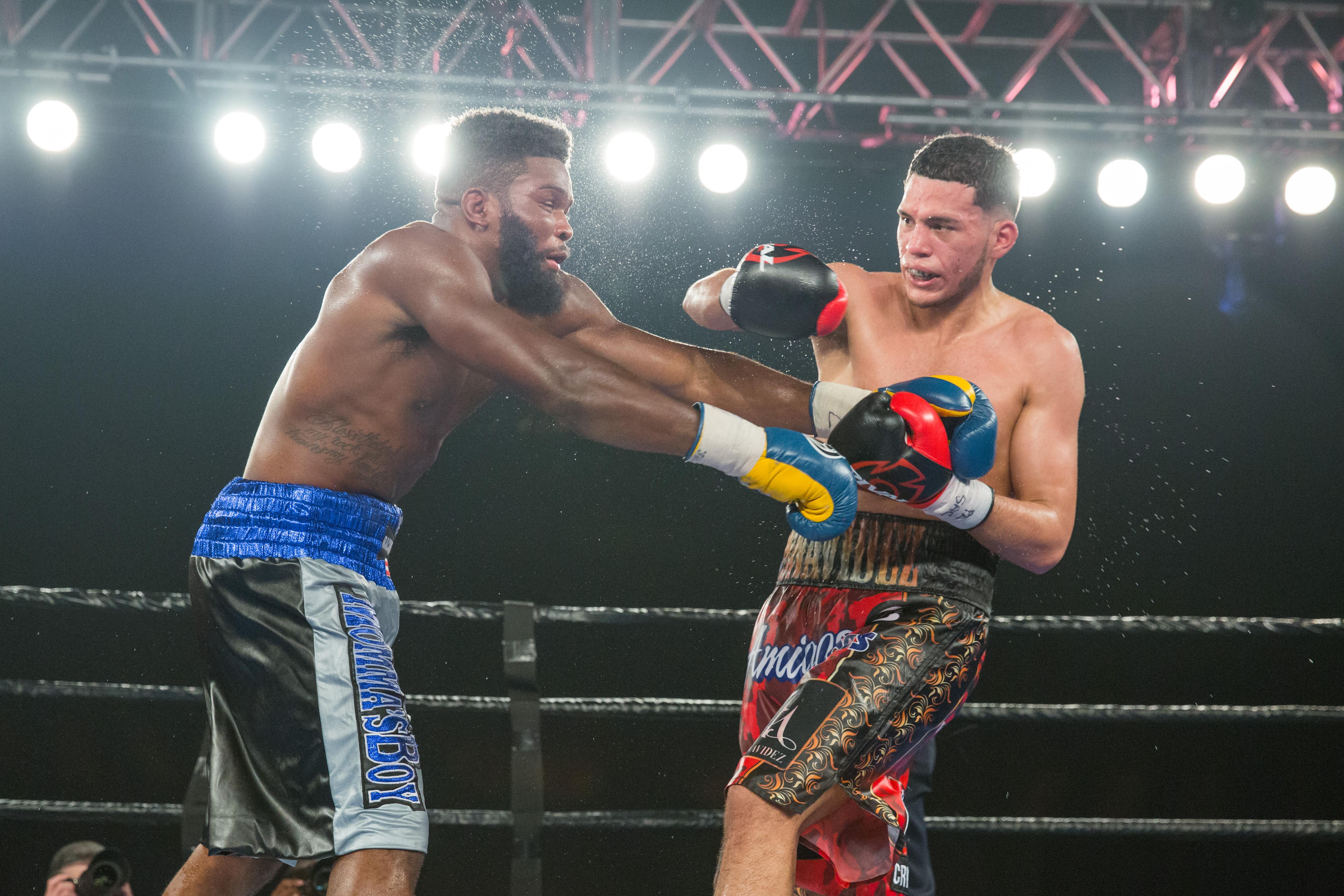 Undefeated Rising Star David Benavidez Knocks Out Denis Douglin