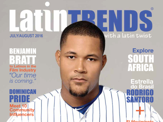 NY Mets Ace Closer Jeurys Familia on summer Issue Cover of LatinTRENDS Magazine