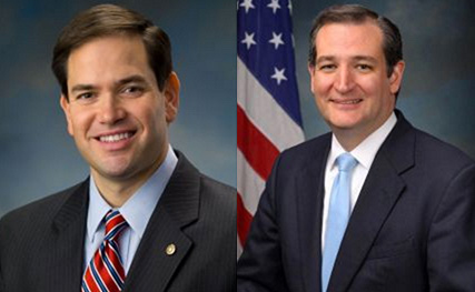 Marco Rubio and Ted Cruz Have No Love for Fidel
