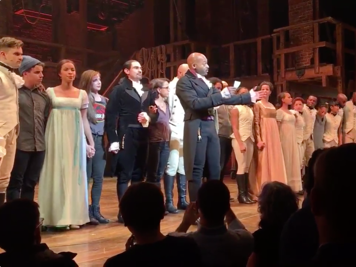 Cast of 'Hamilton' Have No Apologies