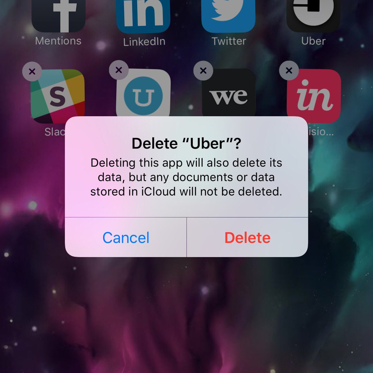 Furious customers delete Uber app after drivers went to protest at JFK airport during