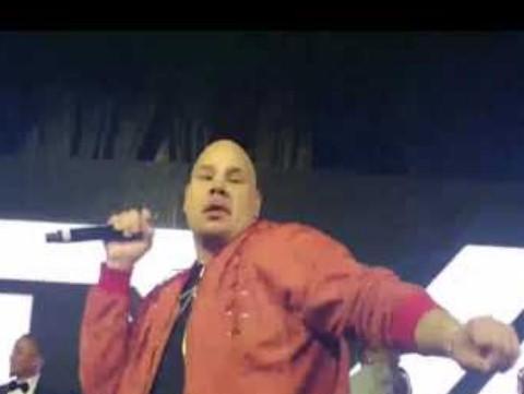 Fat Joe Rocks the house at Floyd Mayweather 's Star Studded 40th Birthday