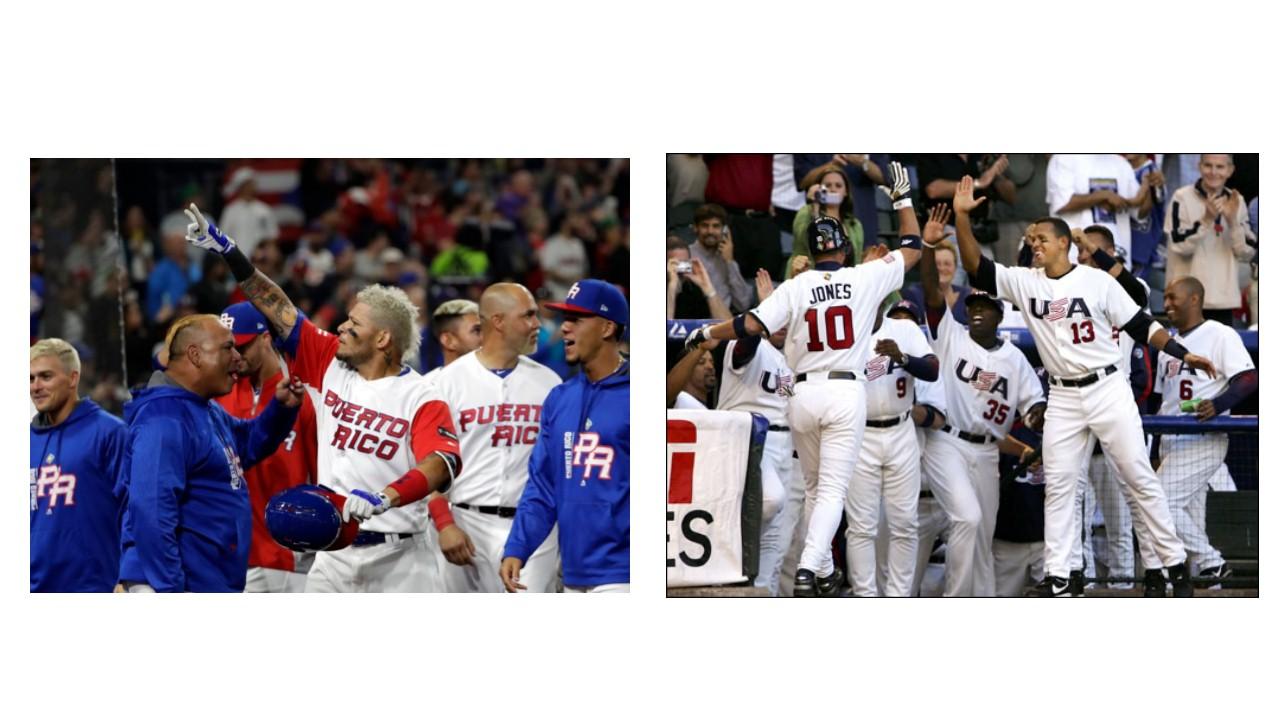 USA vs. Puerto Rico in World Baseball Classic Tonight!