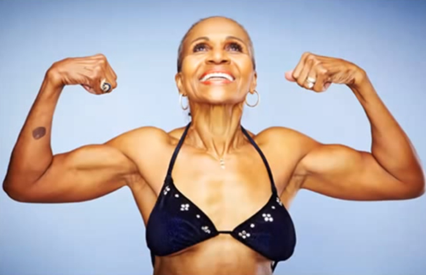 Meet 80-year-Old Female Bodybuilder Who Started Working Out at 56