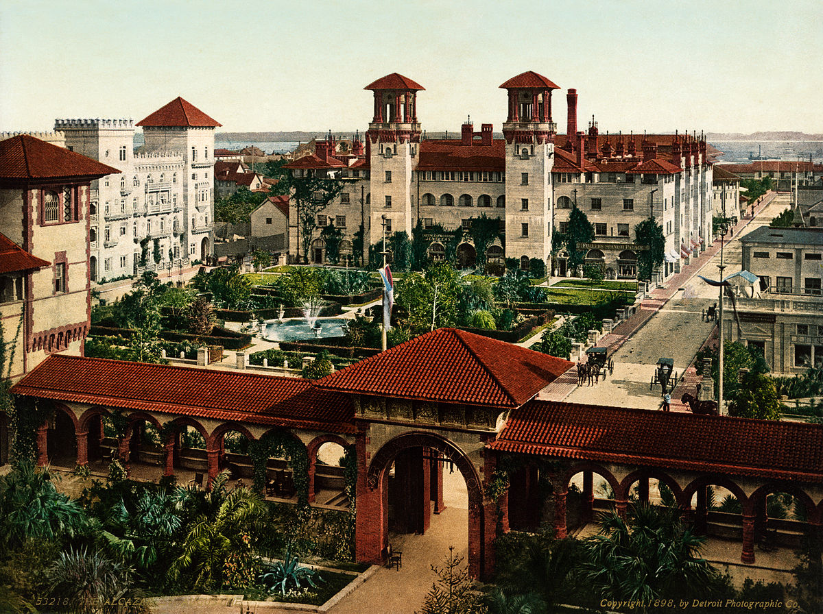Saint Augustine The Oldest City In The United States Was